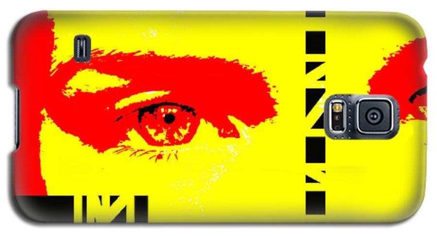 Eyes Galaxy S5 Case featuring the photograph Broken by Amanda Barcon
