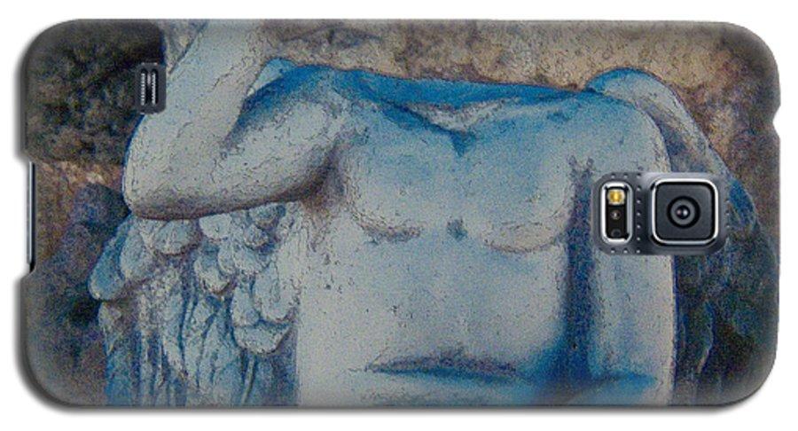 Mono Lake Galaxy S5 Case featuring the photograph Broken Angel Mono Lake by Ann Tracy