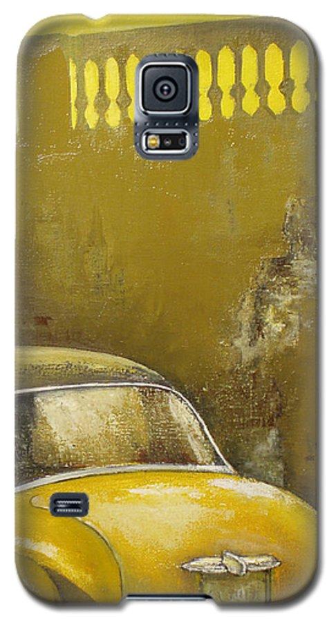 Havana Galaxy S5 Case featuring the painting Buscando La Sombra by Tomas Castano