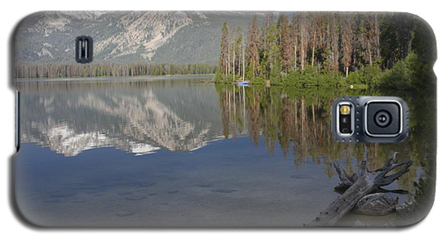 Stanley Lake Galaxy S5 Case featuring the photograph Calm Before The Storm by Idaho Scenic Images Linda Lantzy