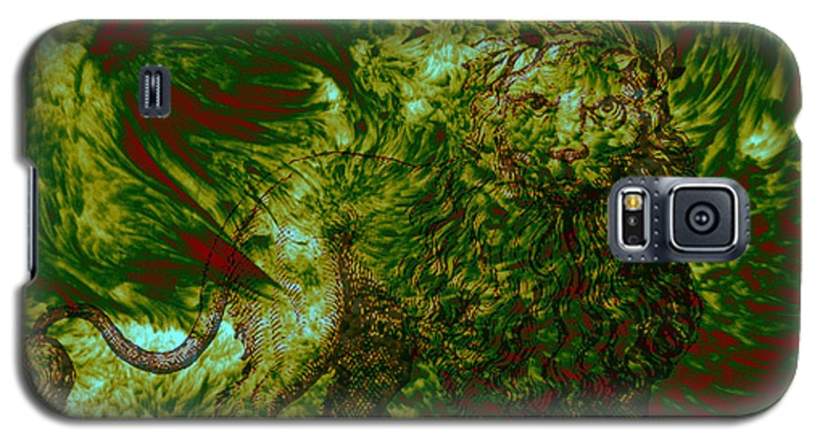 Forest Galaxy S5 Case featuring the photograph Can You See Me by Evelyn Patrick