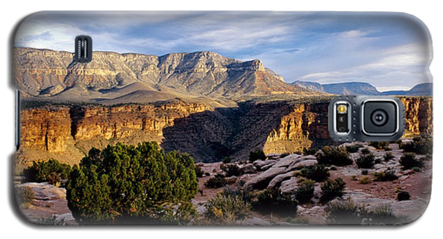 Toroweap Galaxy S5 Case featuring the photograph Canyon Walls At Toroweap by Kathy McClure