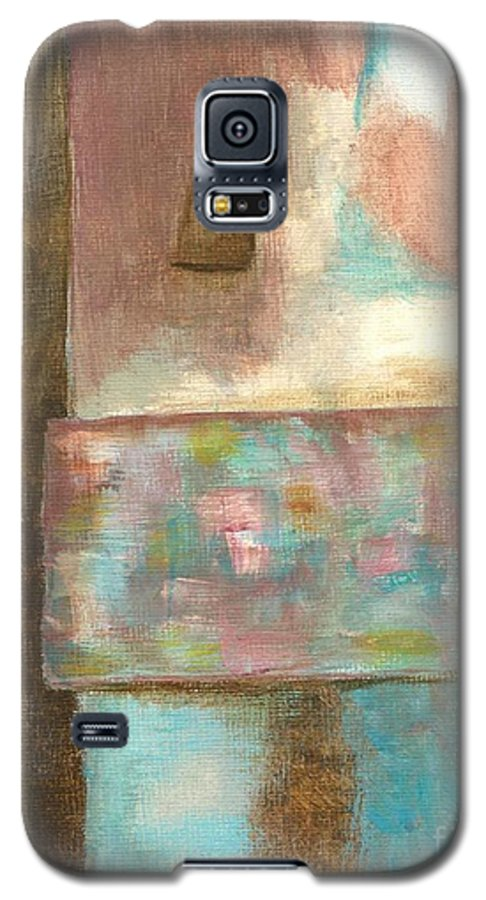 Abstract Galaxy S5 Case featuring the painting Captive Dreamer by Itaya Lightbourne