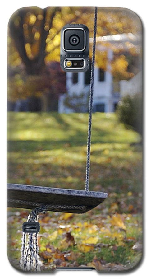 Swing Galaxy S5 Case featuring the photograph Carefree by Faith Harron Boudreau