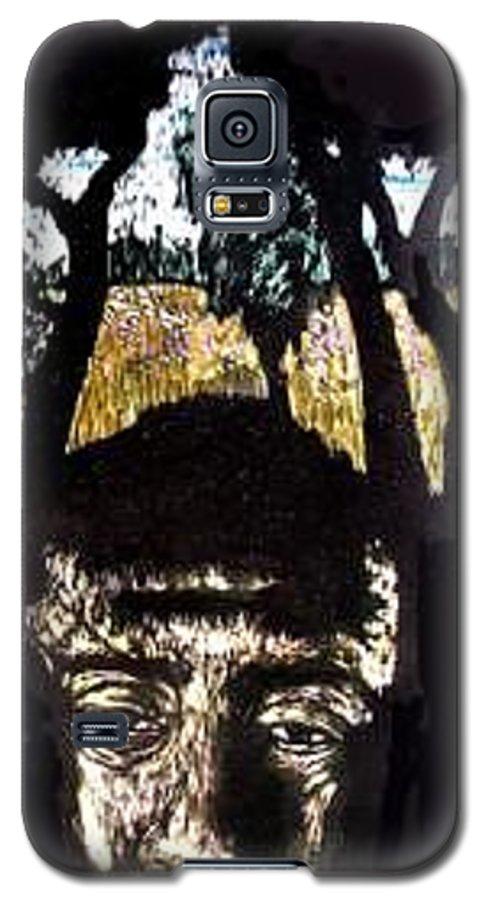 Galaxy S5 Case featuring the mixed media Carlito's Idaho by Chester Elmore