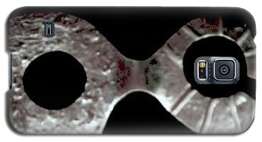 Carnival Type Face Mask For Wearing In .999 Fine Silver Galaxy S5 Case featuring the photograph Carnival 002 by Robert aka Bobby Ray Howle