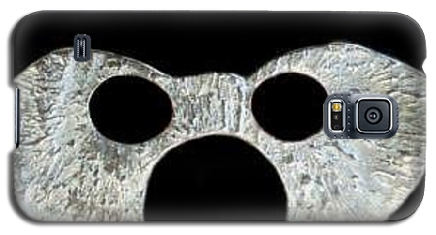 A Wearable Mardi Gras Carnival Or Costume Mask With A Leather Covered Holding Stick Galaxy S5 Case featuring the photograph Carnival Series by Robert aka Bobby Ray Howle