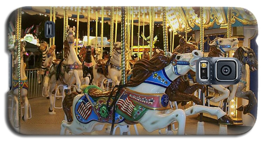 Carousel Horse Galaxy S5 Case featuring the photograph Carousel Horse 3 by Anita Burgermeister
