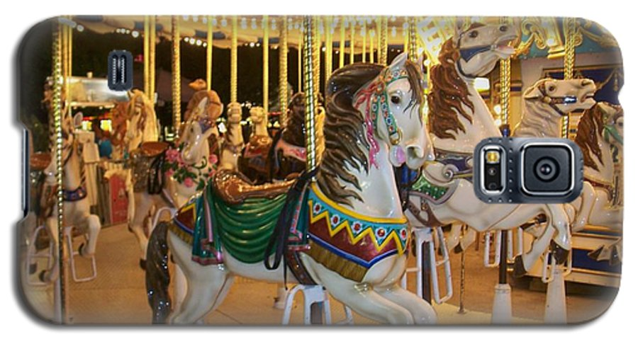 Carousel Horse Galaxy S5 Case featuring the photograph Carousel Horse 4 by Anita Burgermeister