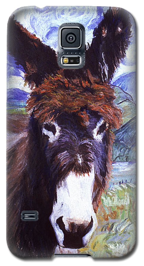 Pat Saunders-white Paintings Galaxy S5 Case featuring the mixed media Carrot Top by Pat Saunders-White