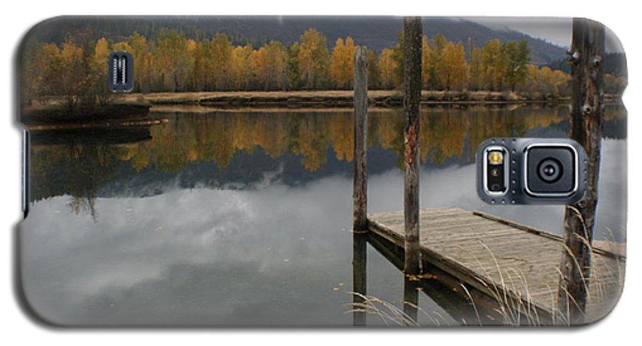 Cataldo Galaxy S5 Case featuring the photograph Cataldo Reflections by Idaho Scenic Images Linda Lantzy