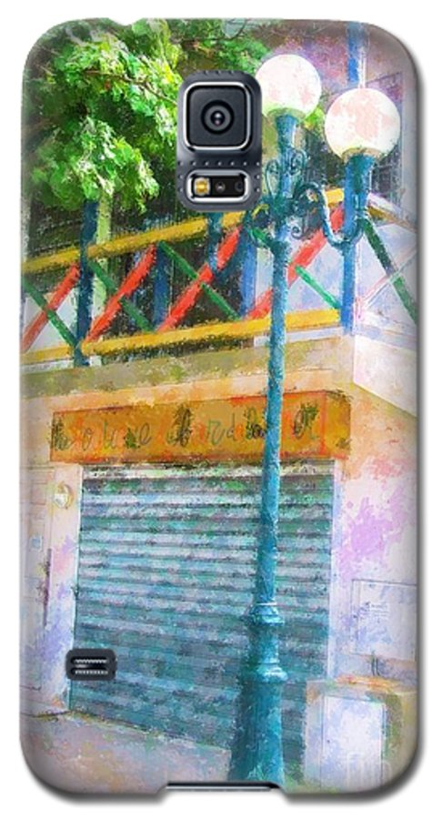 St. Martin Galaxy S5 Case featuring the photograph Cest La Vie by Debbi Granruth