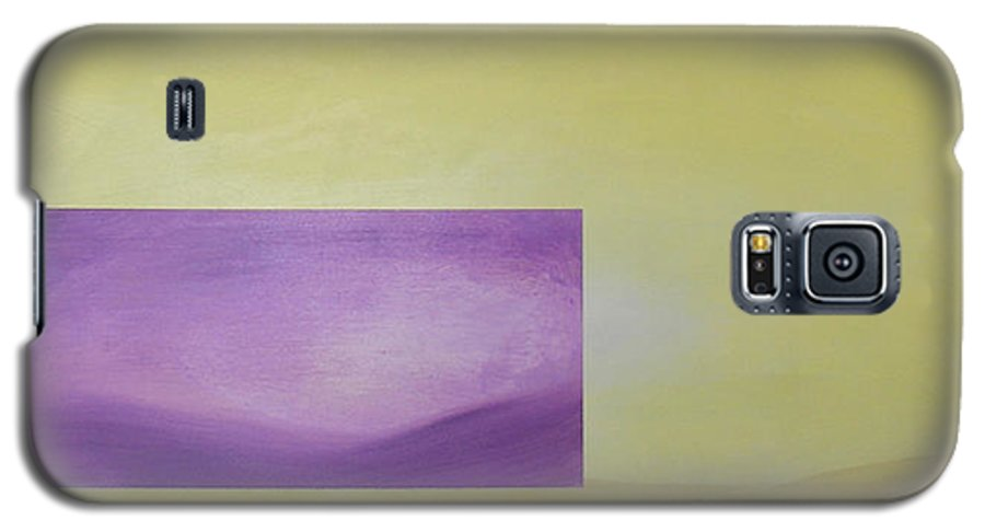 Abstract Galaxy S5 Case featuring the painting Change by Bojana Randall
