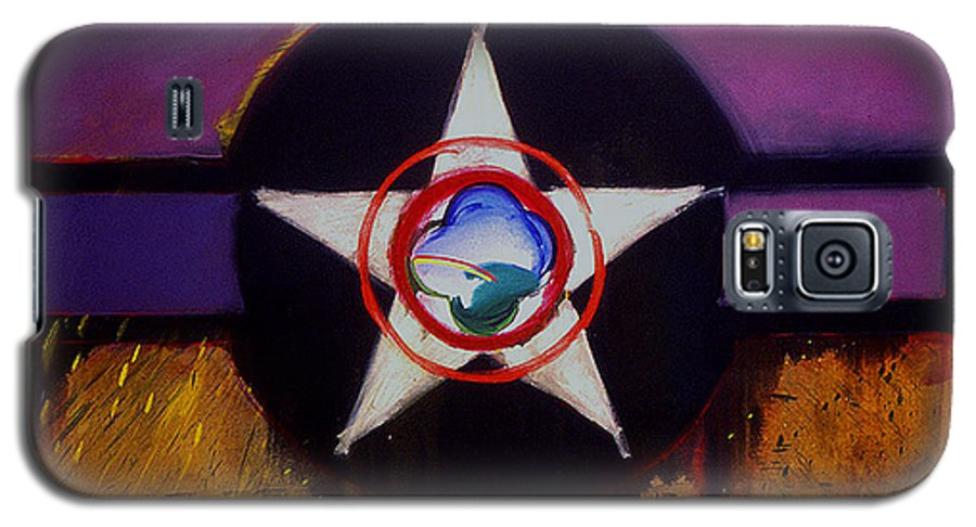 Air Force Insignia Galaxy S5 Case featuring the painting Cheyenne Autumn by Charles Stuart