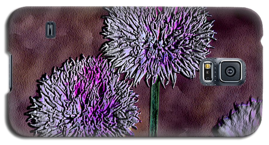 Ebsq Galaxy S5 Case featuring the photograph Chives by Dee Flouton