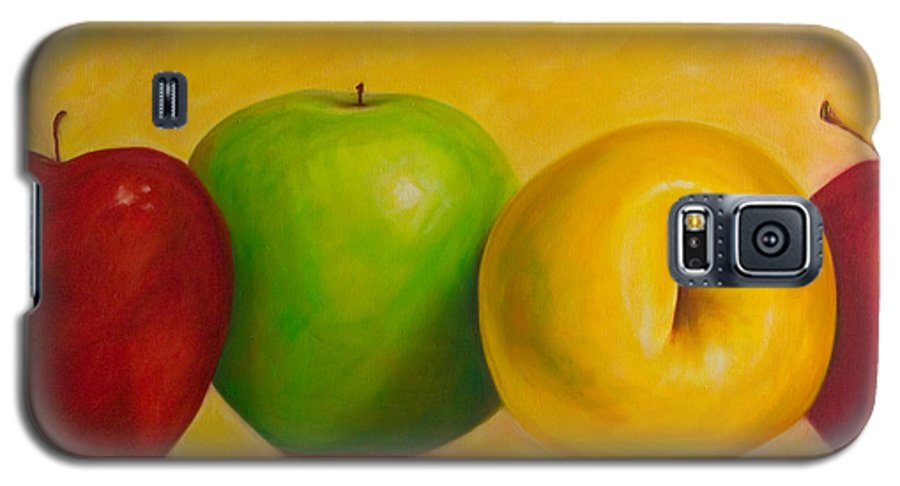 Still Life Galaxy S5 Case featuring the painting Chorus Line by Shannon Grissom