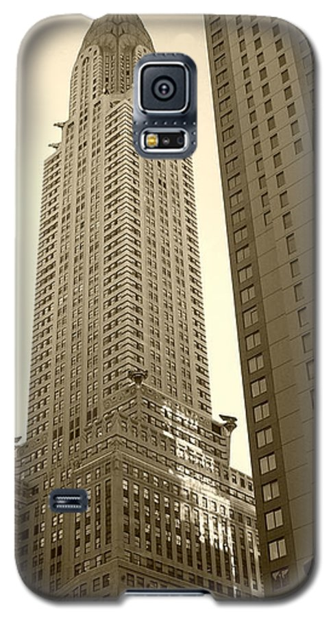 New York Galaxy S5 Case featuring the photograph Chrysler Building by Debbi Granruth