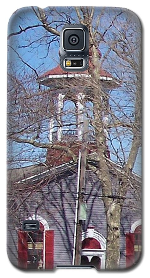 Church Galaxy S5 Case featuring the photograph Church In Woods by Pharris Art