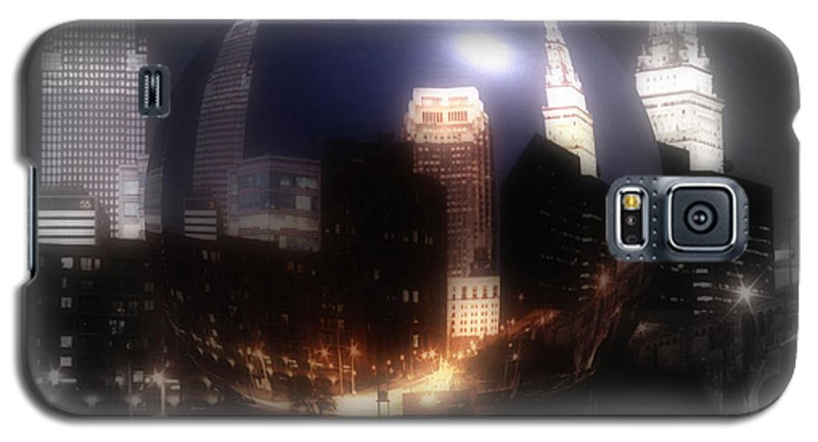 Cleveland Galaxy S5 Case featuring the photograph City On The North Coast by Kenneth Krolikowski
