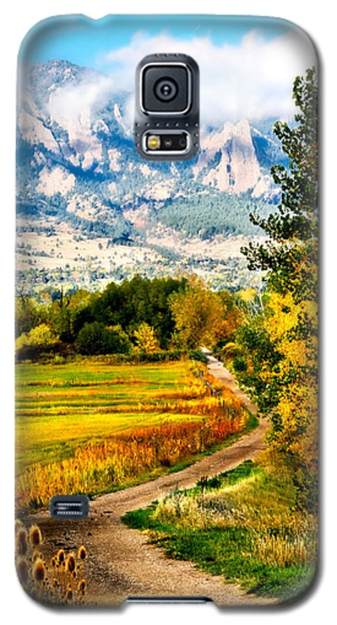 Americana Galaxy S5 Case featuring the photograph Clearly Colorado by Marilyn Hunt