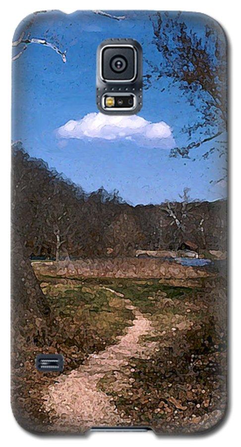Landscape Galaxy S5 Case featuring the photograph Cloud Destination by Steve Karol
