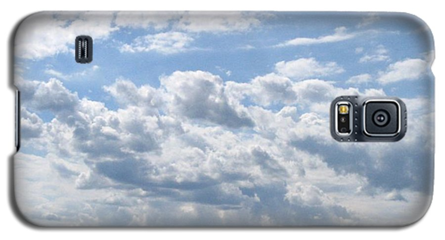 Clouds Galaxy S5 Case featuring the photograph Cloudy by Rhonda Barrett