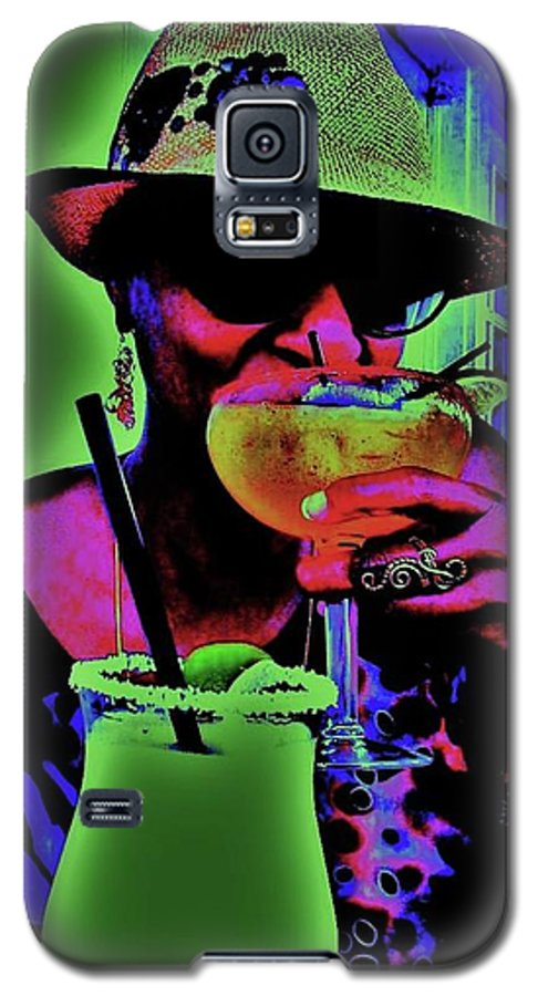 Cocktails Galaxy S5 Case featuring the photograph Cocktails Anyone by Diana Dearen