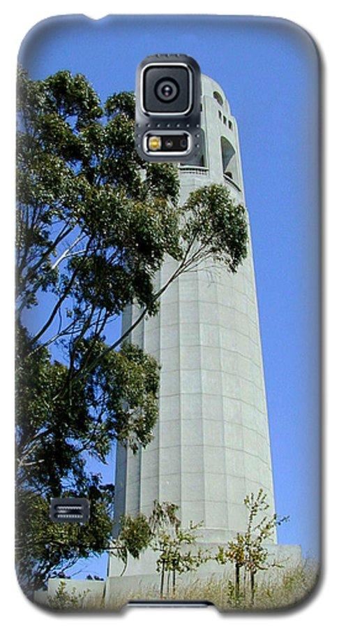 Coit Galaxy S5 Case featuring the photograph Coit Tower by Douglas Barnett