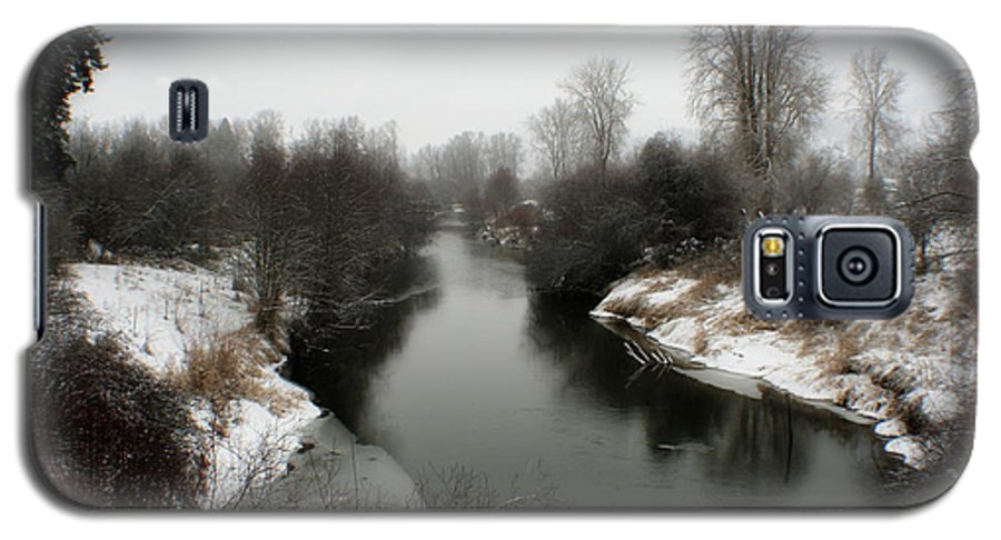 River Galaxy S5 Case featuring the photograph Cold River by Idaho Scenic Images Linda Lantzy