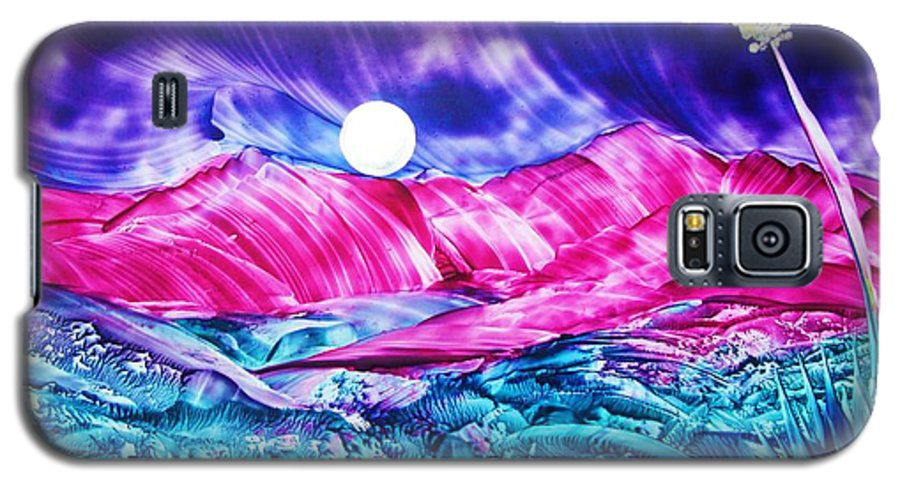 Bold Galaxy S5 Case featuring the print Colorful Desert by Melinda Etzold