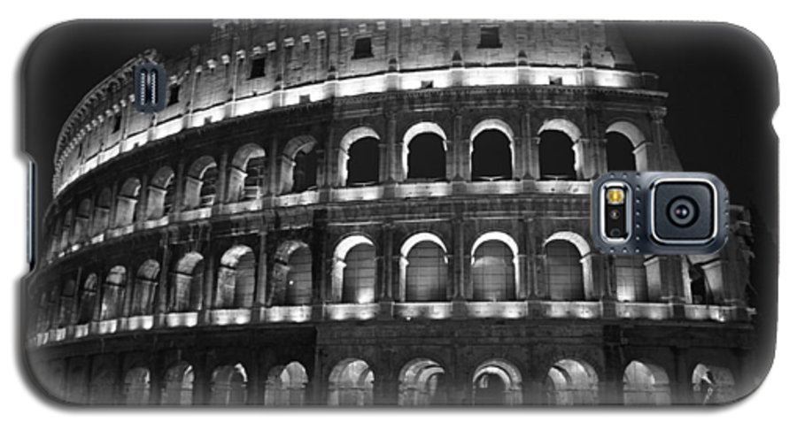 Italy Galaxy S5 Case featuring the photograph Colosseum by Kathy Schumann