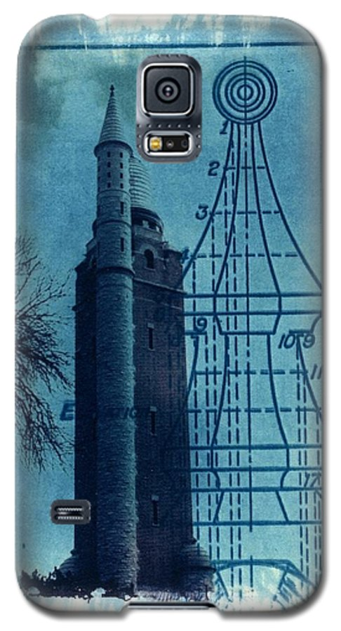 Alternative Process Photography Galaxy S5 Case featuring the photograph Compton Blueprint by Jane Linders