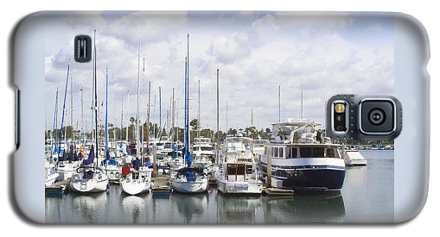 Coronado Galaxy S5 Case featuring the photograph Coronado Boats II by Margie Wildblood