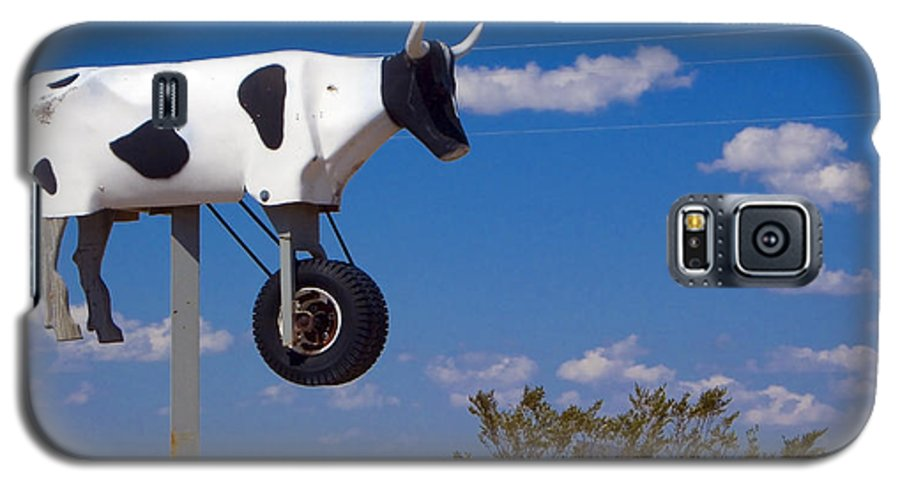 Cow Galaxy S5 Case featuring the photograph Cow Power by Skip Hunt