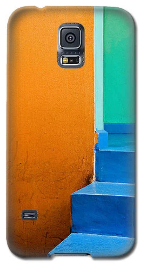 Oaxaca Galaxy S5 Case featuring the photograph Creamsicle by Skip Hunt