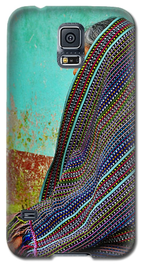 Skip Hunt Galaxy S5 Case featuring the photograph Curandera by Skip Hunt