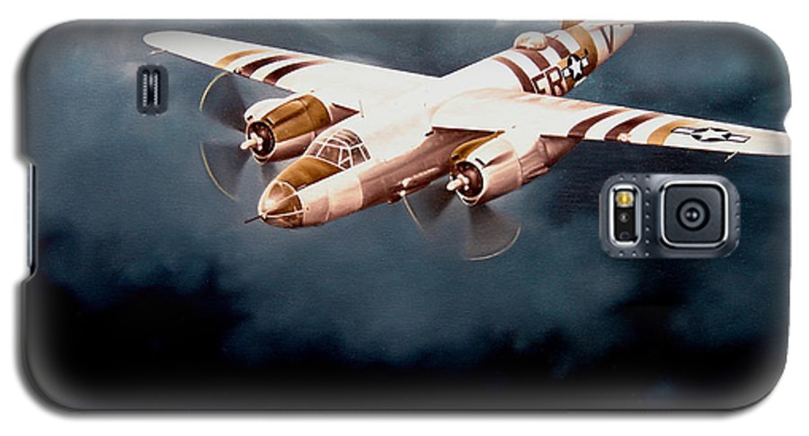 Military Galaxy S5 Case featuring the painting D-day Support by Marc Stewart