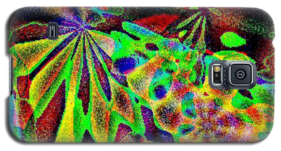 Computer Art Galaxy S5 Case featuring the digital art Damselwing by Dave Martsolf