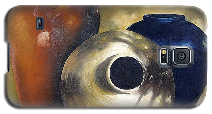 Painting Galaxy S5 Case featuring the painting Dappled Light by Trisha Lambi