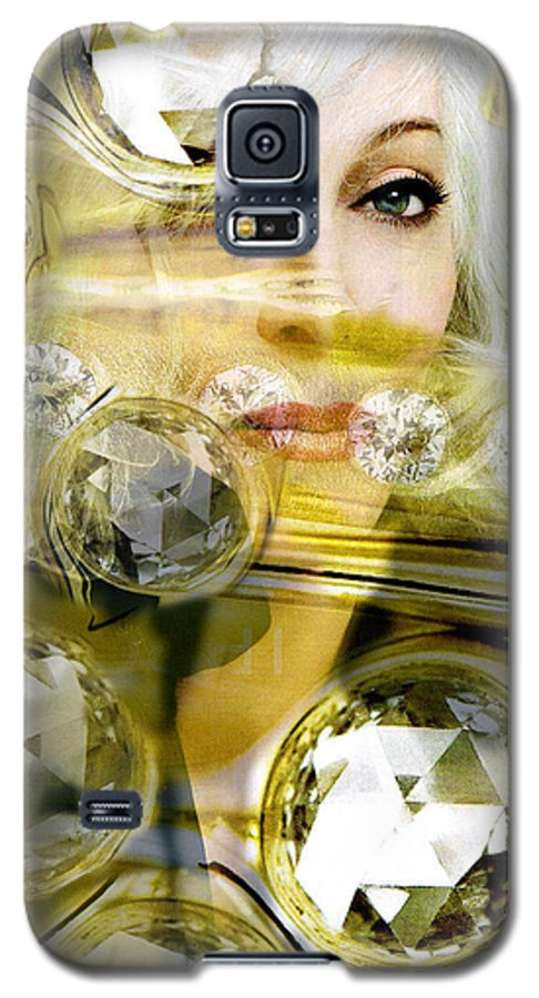 Women Galaxy S5 Case featuring the digital art Darling Diamonds by Seth Weaver