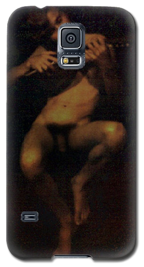 Male Galaxy S5 Case featuring the painting David.06 by Terrell Gates