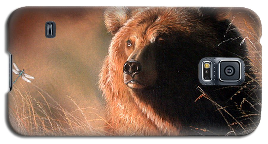 Wildlife Galaxy S5 Case featuring the painting Day Dream by Deb Owens-Lowe