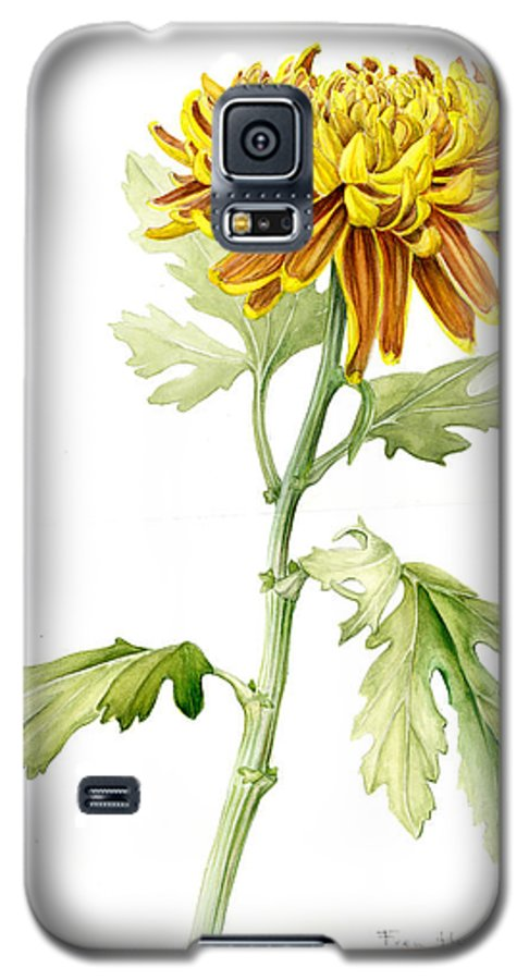 Deco Mum Galaxy S5 Case featuring the painting Deco Mum by Fran Henig
