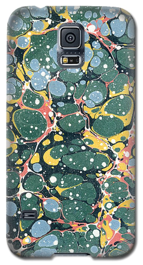 Pollock Galaxy S5 Case featuring the painting Decorative Endpaper by Unknown