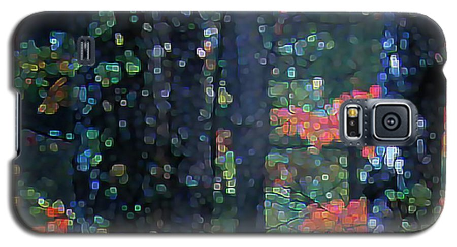Landscape Galaxy S5 Case featuring the digital art Deep Woods Mystery by Dave Martsolf