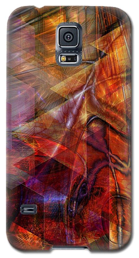 Deguello Sunrise Galaxy S5 Case featuring the digital art Deguello Sunrise by John Beck