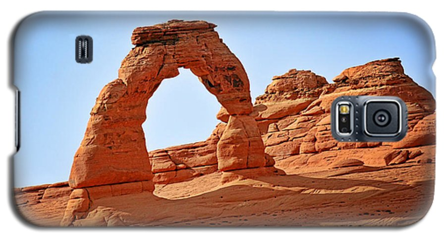 Landscape Galaxy S5 Case featuring the photograph Delicate Arch The Arches National Park Utah by Christine Till