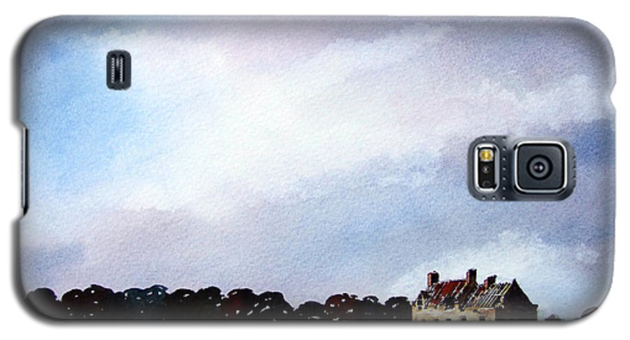 Watercolour Galaxy S5 Case featuring the painting Derelict Farmhouse Near Malton by Paul Dene Marlor