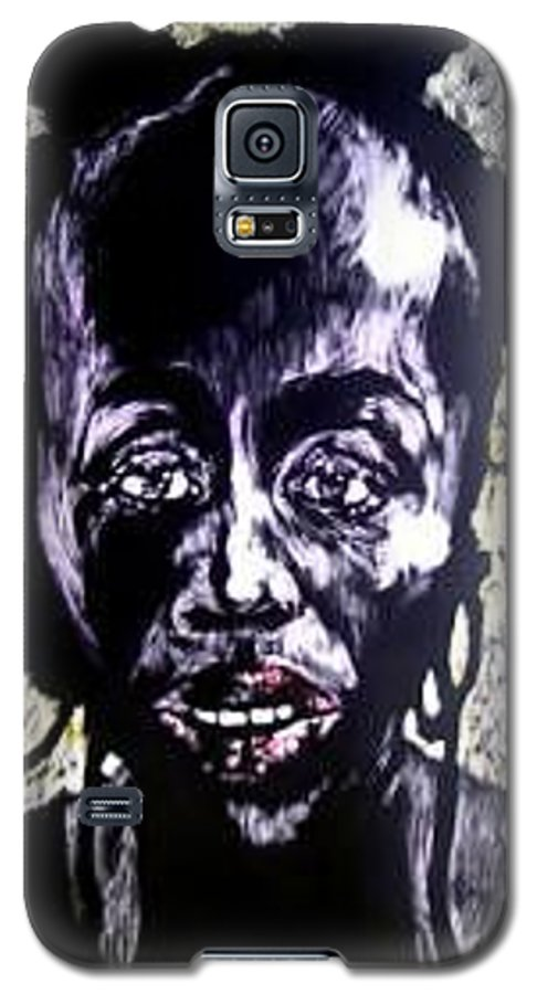 International Womens Day Galaxy S5 Case featuring the mixed media Digital Divide by Chester Elmore