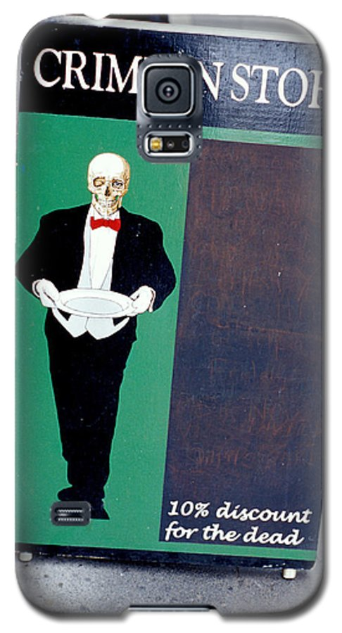 Dead Galaxy S5 Case featuring the photograph Discount For The Dead by Carl Purcell